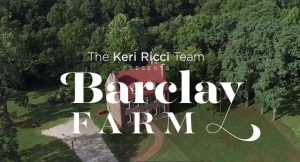 The Barclay Farmstead from above!